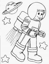Astronauta para colorear (26/59)