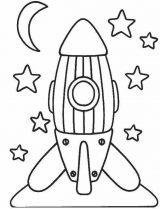 Astronauta para colorear (30/59)