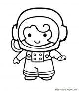 Astronauta para colorear (48/59)