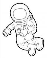 Astronauta para colorear (50/59)