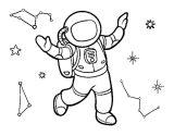 Astronauta para colorear (58/59)