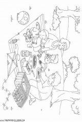 Caillou para colorear. Dibujos de Caillou para pintar (10/12)