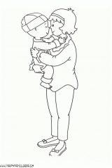 Caillou para colorear. Dibujos de Caillou para pintar (11/12)
