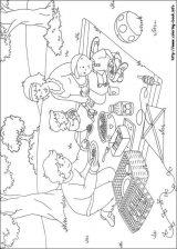 Dibujos de Caillou para colorear e imprimirr (8/12)