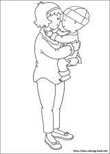 Dibujos de Caillou para colorear e imprimirr (11/12)