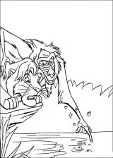 El rey león para colorear (6/24)