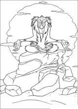 El rey león para colorear (10/24)
