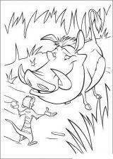 Imágenes de el rey león para colorear (5/24)