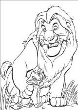 Imágenes de el rey león para colorear (9/24)