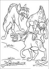 Imágenes de el rey león para colorear (14/24)