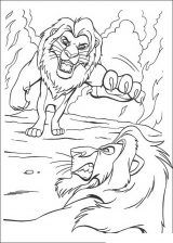 Imágenes de el rey león para dibujar (2/20)
