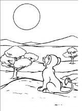 Imágenes de el rey león para dibujar (10/20)