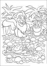 Imágenes de el rey león para dibujar (12/20)