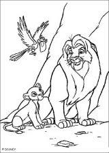 Imágenes de el rey león para dibujar (17/20)