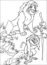Imágenes de el rey león para colorear (3/12)