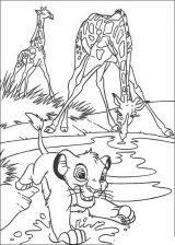 Imágenes de el rey león para colorear (6/12)