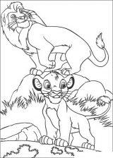 Imágenes de el rey león para colorear (9/12)