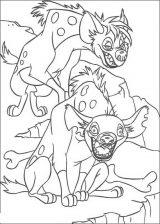 Dibujos para pintar de el rey león (2/12)