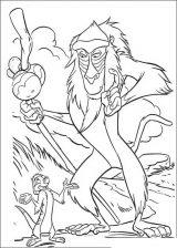 Dibujos para pintar de el rey león (6/12)