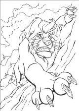 Dibujos de el rey león para imprimir (1/13)