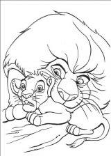 Dibujos de el rey león para imprimir (2/13)