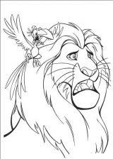 Dibujos de el rey león para imprimir (4/13)