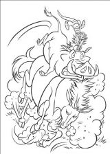 Dibujos de el rey león para imprimir (5/13)