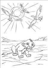 Dibujos de el rey león para imprimir (9/13)