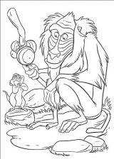 Dibujos de el rey león para imprimir (10/13)