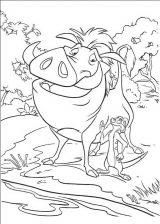 Dibujos de el rey león para imprimir (13/13)
