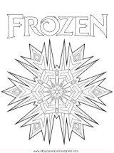 Frozen para colorear (8/12)