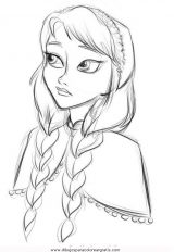 Dibujos para colorear de Frozen (1/12)