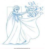Dibujos para colorear de Frozen (4/12)