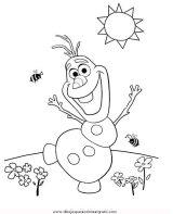 Dibujos para colorear de Frozen (10/12)