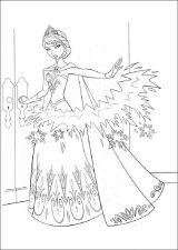 Dibujos para colorear Frozen (3/12)