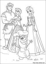 imagenes de Frozen para colorear (5/12)