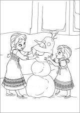 imagenes de Frozen para colorear (6/12)