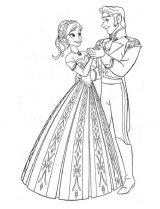 imagenes de Frozen para colorear (7/12)