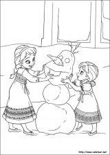 pintar Frozen (10/12)