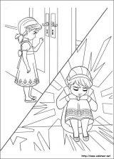 Elsa para colorear (1/12)