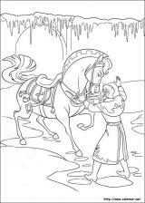 Elsa y Anna para colorear (12/12)