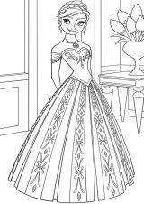 Dibujos para pintar de Frozen (6/13)