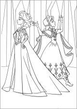 Dibujos para pintar de Frozen (8/13)