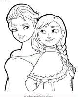 Dibujos para pintar de Frozen (12/13)