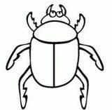 Anélidos y gusanos para colorear (20/123)