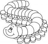 Anélidos y gusanos para colorear (98/123)