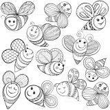 abejas para dibujar (1/20)