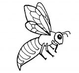 abejas para dibujar (3/20)