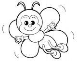 abejas para dibujar (5/20)