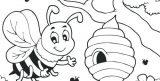 abejas para dibujar (8/20)